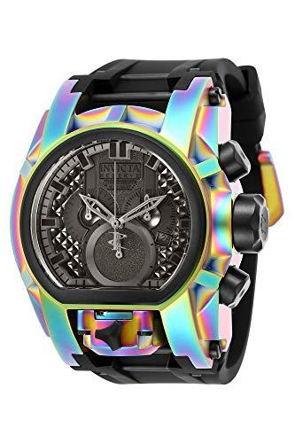 Invicta 25609 Men's Bolt Zeus Reserve Chrono Black Strap Dive Watch