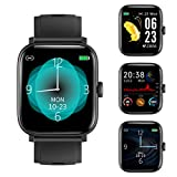 RUNDOING Full Touch Screen Smart Watch for Android ios Phones,Fitness Tracker with Sleep/Heart Rate...