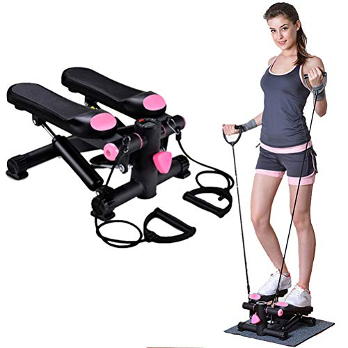Buy Home Portable Stepper Climbing Machine,Multifunctional Mute Stepper,Indoor Swing Exercise,Mini M...