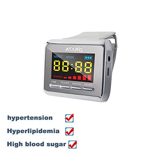 Laser Watch Hypertension Diabetes mellitus high blood viscosity cardiovasular Diabetics High Blood Pressure Laser Acupuncture