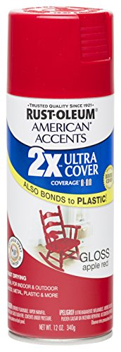 Rust oleum 280716 american accents ultra cover 2x spray paint, gloss...