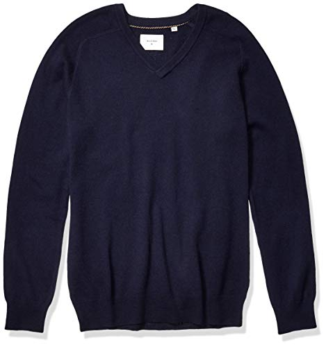 Men's Navy Cashmere Sweaters