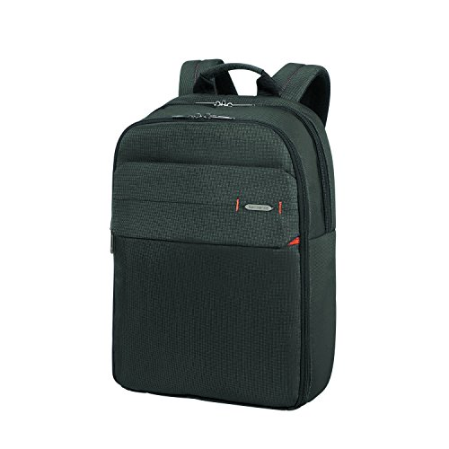Samsonite LAPTOP BACKPACK 17.3' (CHARCOAL BLACK) -NETWORK 3  Mochila tipo casual, 0 cm, Negro