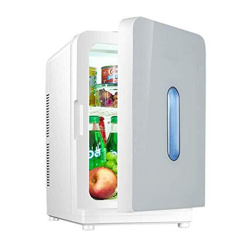 Wangt Mini-koelkast, 20 l, 220 V / 12 V, ABS-kunststof, multifunctioneel, koelbox voor de auto, voor de vriezer, voor het huishouden, koelkast, auto, draagbaar, voor camping en op reis