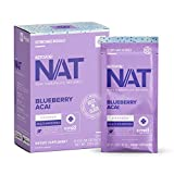 Keto//OS NAT® Blueberry Acai Keto Supplements – Charged - Exogenous Ketones - BHB Salts Ketogenic Supplement for Workout Energy Boost for Men and Women (20 Count)