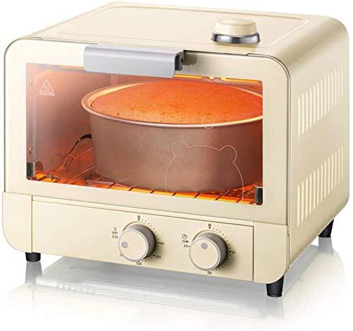 Horno eléctrico de la máquina de cocción al vapor, calefacción de tubo de cristal del horno automático de 15L mini 12l