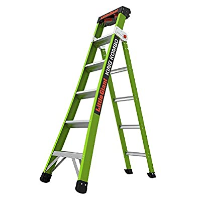 Little Giant Ladder Systems 13610-001 King Kombo Professional 6' - 10', Green