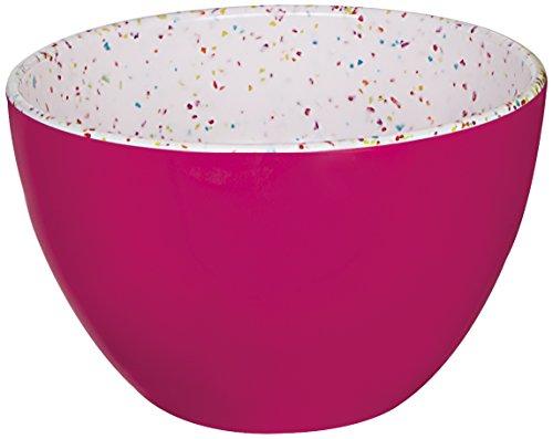 Zakdesigns 2178-0320 Confetti Bol Mini Mélamine Rouge 45 x 35 x 25 cm