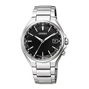 [シチズン] 腕時計 アテッサ Eco-Drive エコ・ドライブ電波時計 ワールドタイム ダイレクトフライト CB1120-50E メンズ シルバー