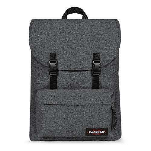 Eastpak London+ Mochila, 45 cm, 21 L, Gris (Black Denim)