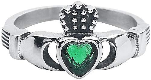 Claddagh Ring Celtic Ehering Verlobungsring irischer Hochzeitsring (59 (18.8))