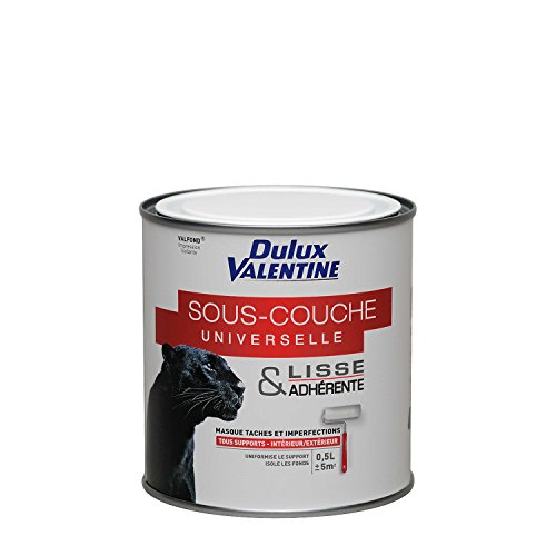 Peinture Dulux Valentine - Sous-couche Universelle Valfond Glycéro 0,5 L