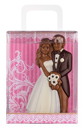 Weibler Confiserie Geschenkpackung Brautpaar 125g Schokolade