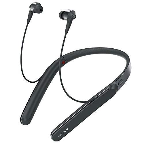 ソニー ワイヤレスノイズキャンセリングイヤホン WI-1000X : Bluetooth/ Amazon Alexa搭載 /ハイレゾ対応 最大10時間連続再生 カナル型 マイク付き 2017年モデル 360 Reality Audio認定モデル ブラック WI-1000X B