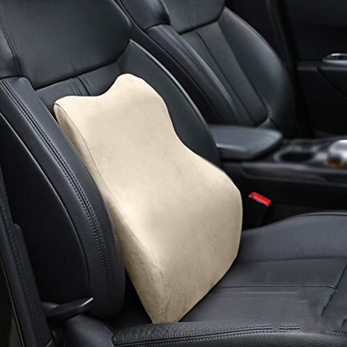 Zhangapn1 Auto taille kussen Soft Studio Balanced Premium Memory Foam rugsteun Lombare kussen auto bureaustoel