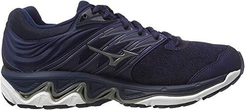 Mizuno Wave Paradox 5, Zapatillas de Running para Hombre, Azul (Medblu/Mshadow/Dress Blue 58), 45 EU