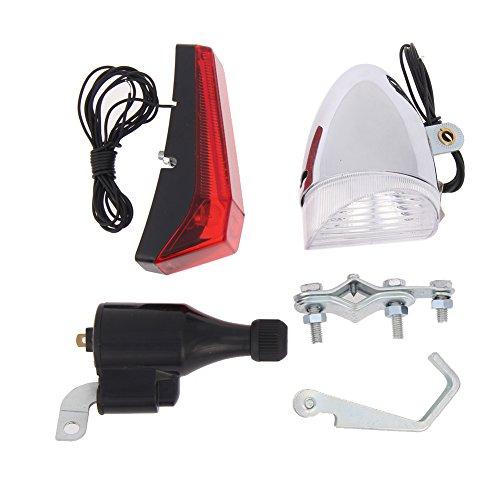 demiawaking no funciona con pilas para bicicleta/bicicleta dinamo con faro y rearlight