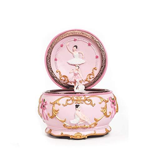 jinyi2016SHOP Caja de Música Ballet Vuelta Girl Dance Music Box Music Box Lago de los cisnes Ronda de Caja de música Cajas Musicales decoración (Color : Spirited Away)