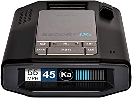 Escort IXC Laser Radar Detector - Extended Range, WiFi Connected Car Compatible, Auto Learn Protection, Voice Alerts,...