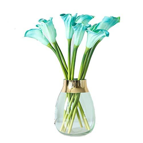 Valse bloem WGZ gevoel PU calla-lelie grote simulatie bloemenboeket vaas set decoratie bloemendecoratie sieraden decoreren