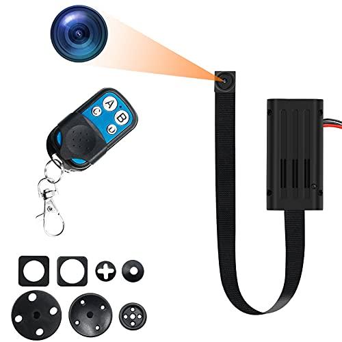 小型カメラ 隠しカメラ スパイカメラ バージョンアップ 1080P画質 6時間録画 リモコン付き 超小型カメラ 動体検知 日時セット防犯用 証拠撮影 屋外 屋内用 携帯便利 日本語取扱書付き T188-JP01