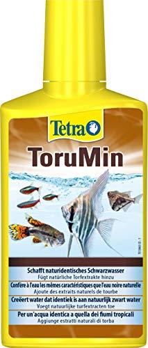 Tetra ToruMin Wasseraufbereiter (für naturidentisches Schwarzwasser, Wasseraufbereiter Aquariumpflege), 250 ml Flasche