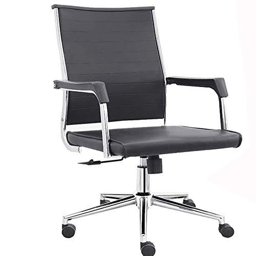 SMX bureaustoel, computerstoel draaibare bureaustoel Ergonomische bureaustoel, Ergonomische managers computer/bureaustoel, zwart