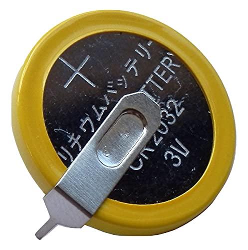 elfin203 リチウムコイン電池 CR2032 タブ付 (横型端子) ゲーム用カートリッジ 交換用電池