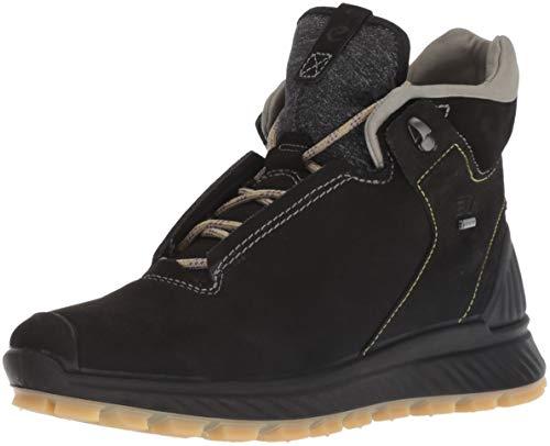 ECCO EXOSTRIKE, Chaussures de Randonnée Hautes Femme, Noir 56601, 38 EU