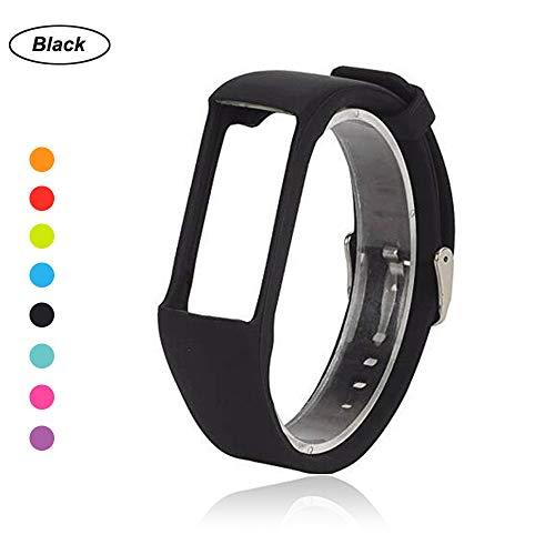 Armband für Polar A360 Fitnesstracker, Ersatz Uhrenarmband Silikon Wechselarmband Uhrband für Polar 360 Smartwatch