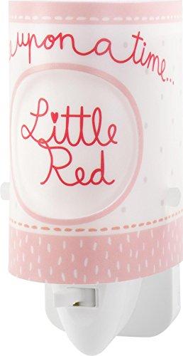 Dalber nachtlampje rood kapje, plastic, rood, 6 x 7 x 13 cm