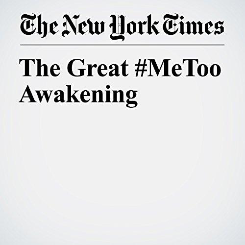 The Great #MeToo Awakening copertina