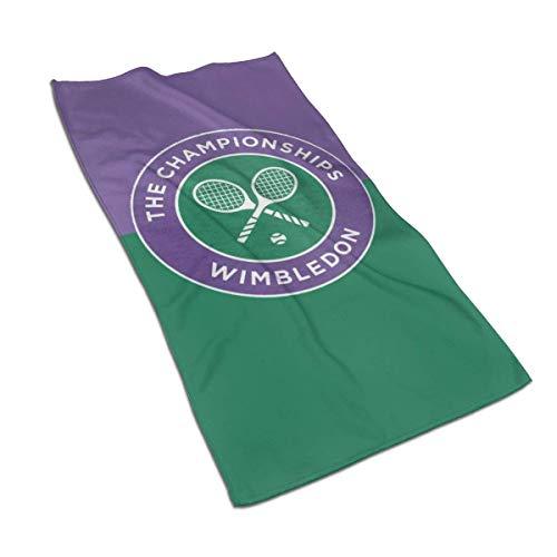 Stylish home Wimbledon - Toallas de baño (39,9 x 69,8 cm), color blanco