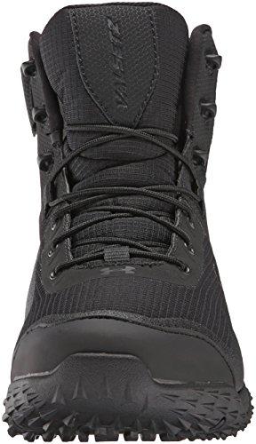 Under Armour Men's Valsetz RTS Side-Zip Tactical Boots, Black/Black, 10.5