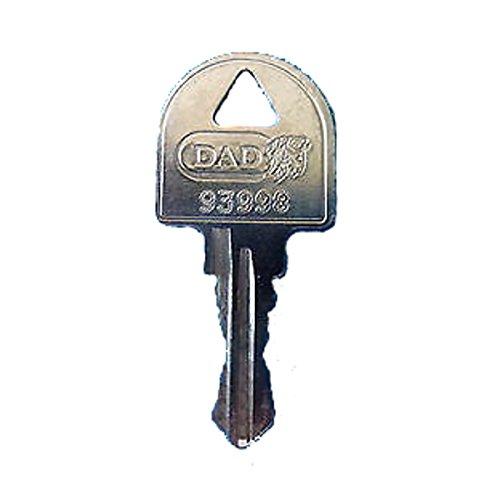 DAD/MSM/Altus/Leabox Ersatzschlüssel - Schließung 9001 bis 9494 - Nachschlüssel - Zusatzschlüssel - Briefkastenschlüssel - Schließung 9284