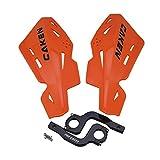 CNC - Protector de mano para manillar de bicicleta, motocross, ATV, repuesto para SX SXF EXC XCW, color naranja