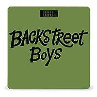 Backstreet Boy 3 体重計 デジタル 電子スケール ヘルスメーター 電源自動ON/OFF バックライト付き 高精度ボディースケール コンパクト 電池式 薄型 収納便利 体重管理