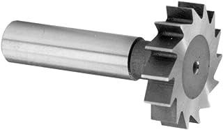 F/&D Tool Company 12310 Shank Type Woodruff Keyseat Cutter High Speed Steel 1//8 Width of Face Straight Tooth 1//2 Diameter