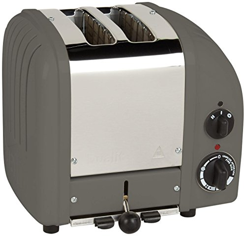 Learn More About Dualit 2 Slice Classic Toaster, Cobble Gray