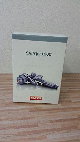 SATAjet Lackierpistole 1000 B RP 1,3 0,6 l QCC-Becher