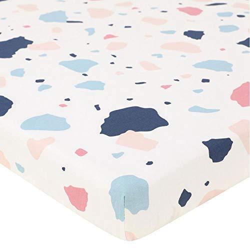 Vuffuw - Sábana para Cuna Estampada, sábana de algodón Ultra Suave, sábanas para Cuna para bebé niña y niño, Type 5: Amazon.es: Hogar