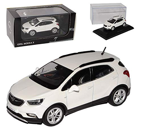 .Opel Mokka X 1:43, Abalone Weiß OC10921