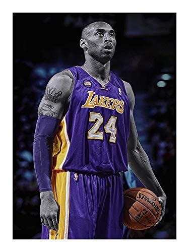 GAONAN Los Aficionados de la NBA Colección Rompecabezas - Lakers NO 0.24 for Adultos Cuentos for niños - Cada Pieza es única, Piezas encajan Perfectamente (300/520/1000 de Madera Piezas) Rompecabezas
