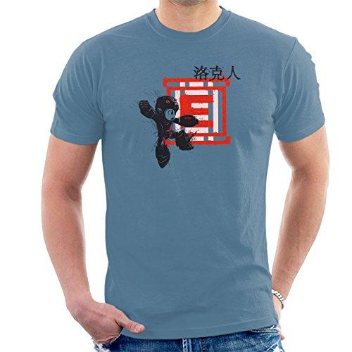 Red Sun Megaman Men's T-Shirt