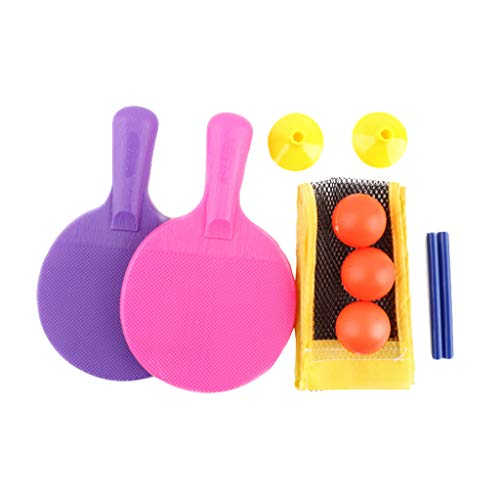 Lowest Prices! Kuerqi Children's Beginner Table Tennis Racket Combination Sports Toy Set Sport Equip...