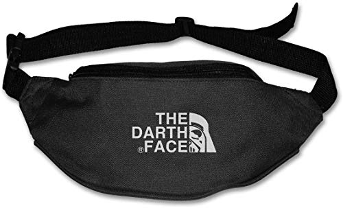 vbcnfgdntdy Fanny Pack for Women Men Darth Vader X North FACE Print Design Waist Bag Pouch Travel Pocket Wallet Bum Bag for Running Cycling Hiking Workout