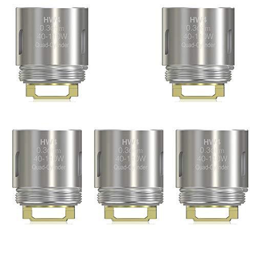 Eleaf HW4 Spule 0,3 Ohm Elektronische Zigarette Spulenköpfe Fit für Ello Tank iKonn 220 Vape Eleaf Spule (HW4 Spule)