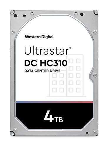 """Western Digital Ultrastar DC HC310 (HUS726T4TALA6L4) HDD 3.5"""" SATA di Classe Enterprise 7200 RPM, 4 TB"""