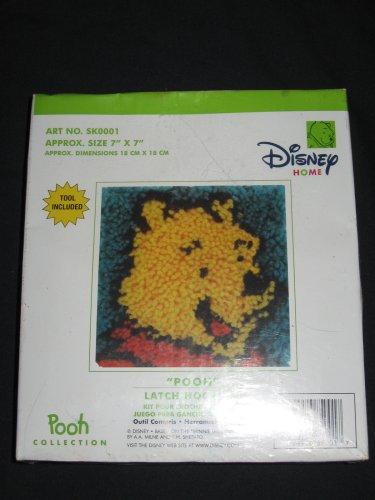 Disney Home POOH Latch Hook Kit 7x7