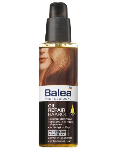 Balea Professional Oil Repair Haaröl, 5er Pack (5 x 100 ml)